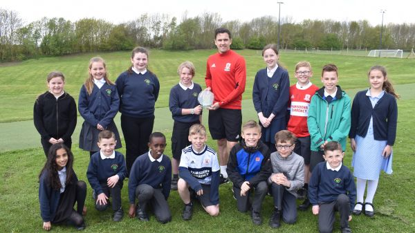 Stewart Downing receives PFA Community Award