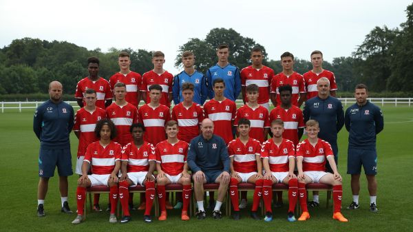 Middlesbrough FC Under-18s squad 2018/19