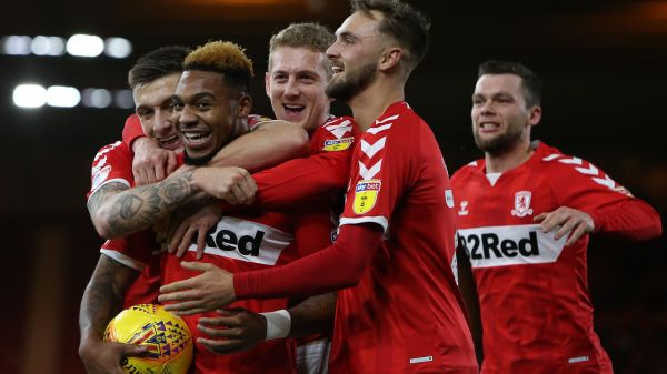 1-1! All smiles as Britt Assombalonga gets the equaliser for Boro