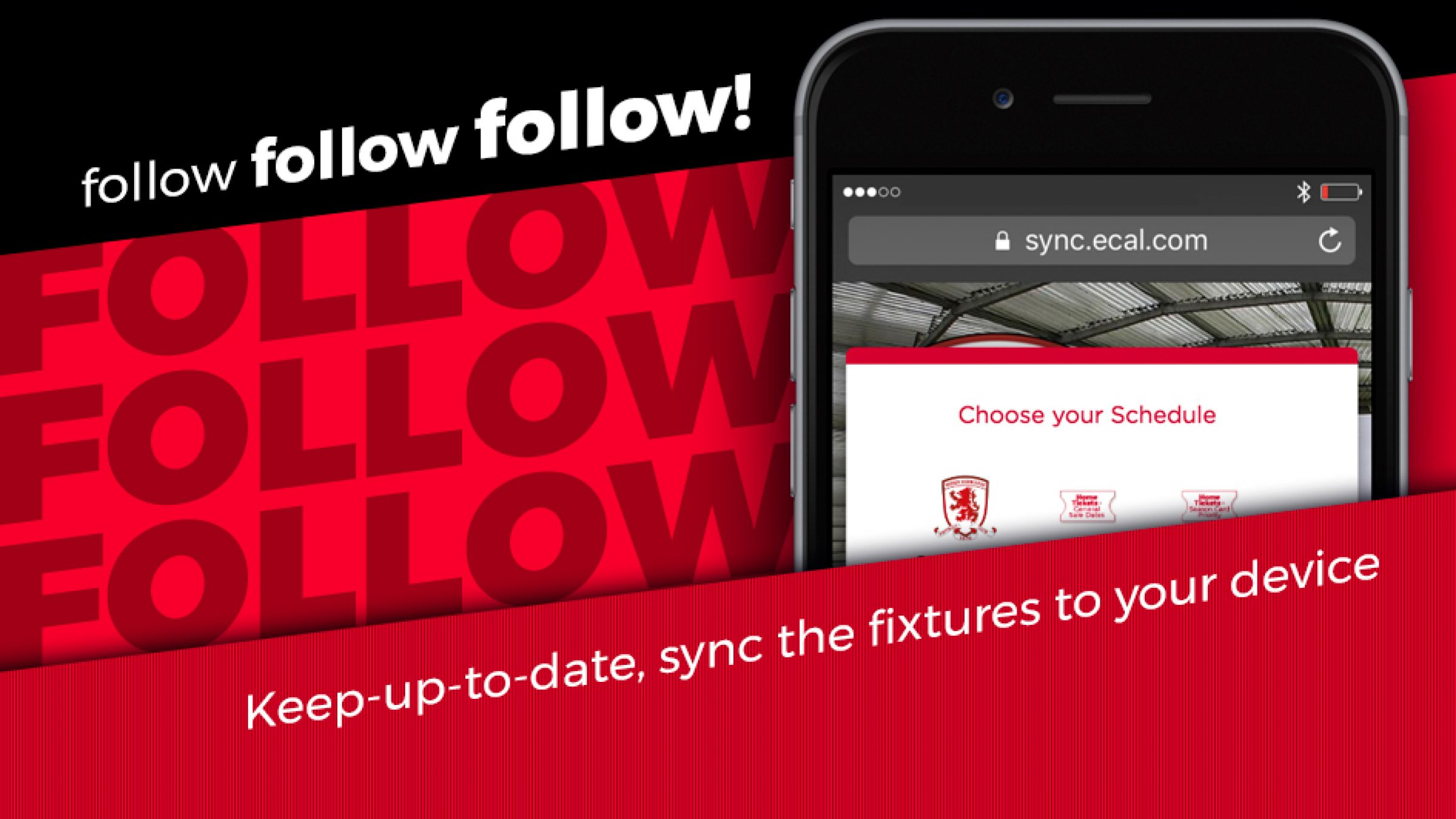 Sync Boro's 2018/19 Fixtures To Your Digital Calendar | Middlesbrough FC