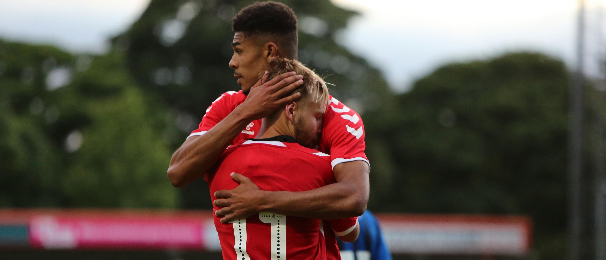 Harry Chapman and Ashley Fletcher Rochdale