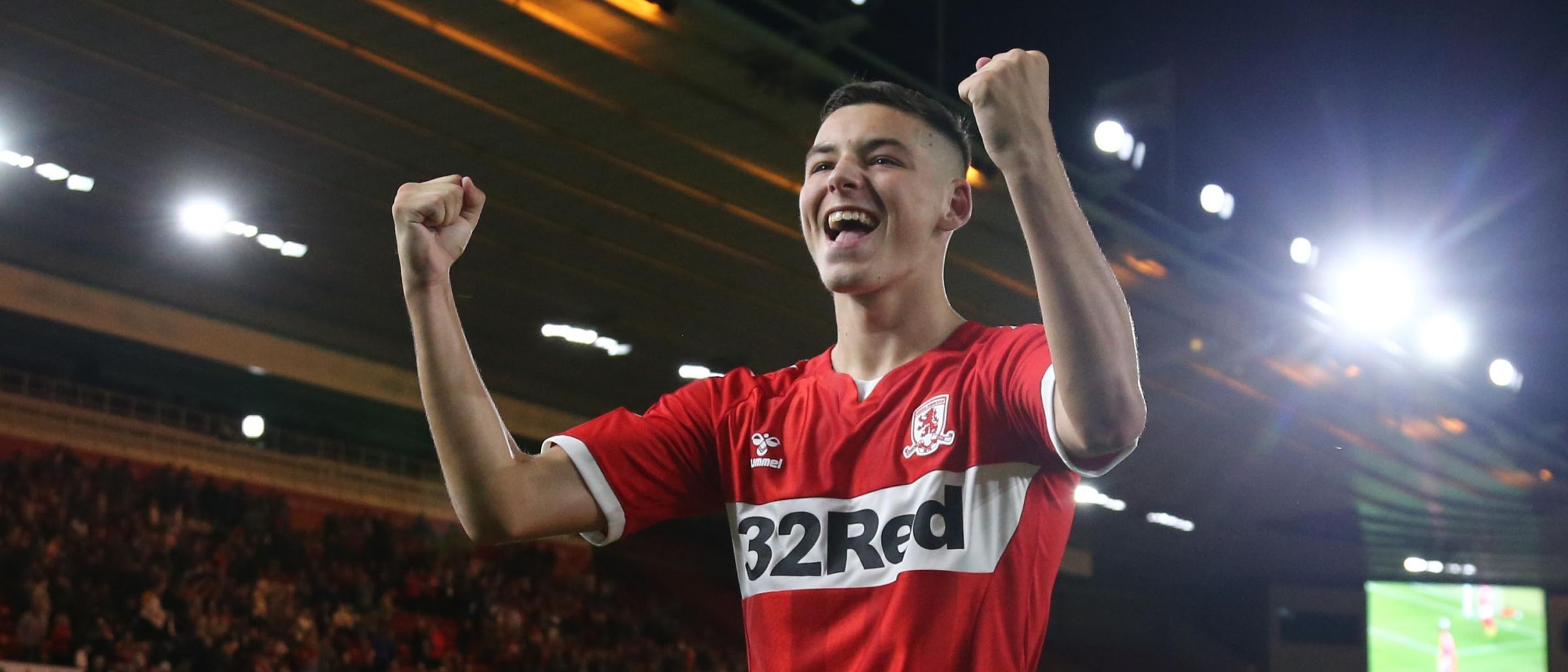 Boro boy Walker is delighted after the shoot-out win
