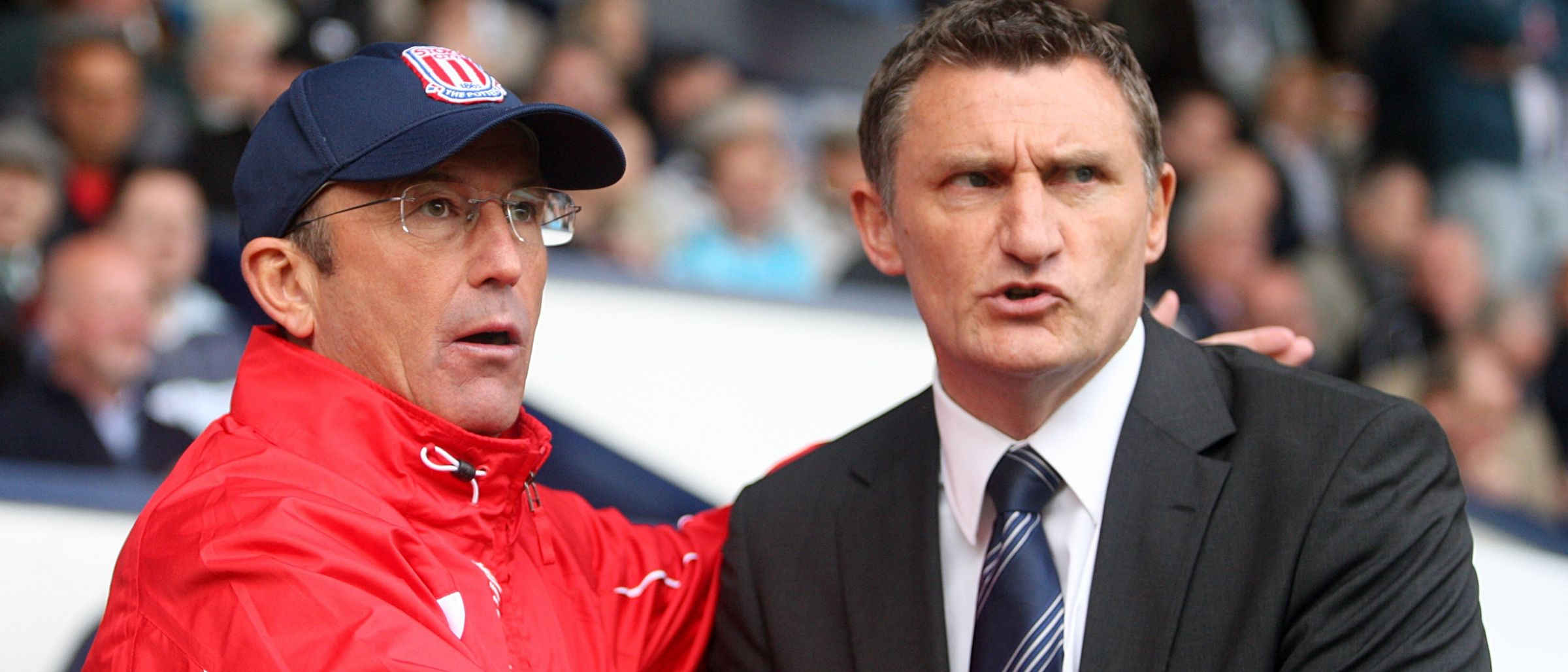 Tony Pulis and Tony Mowbray
