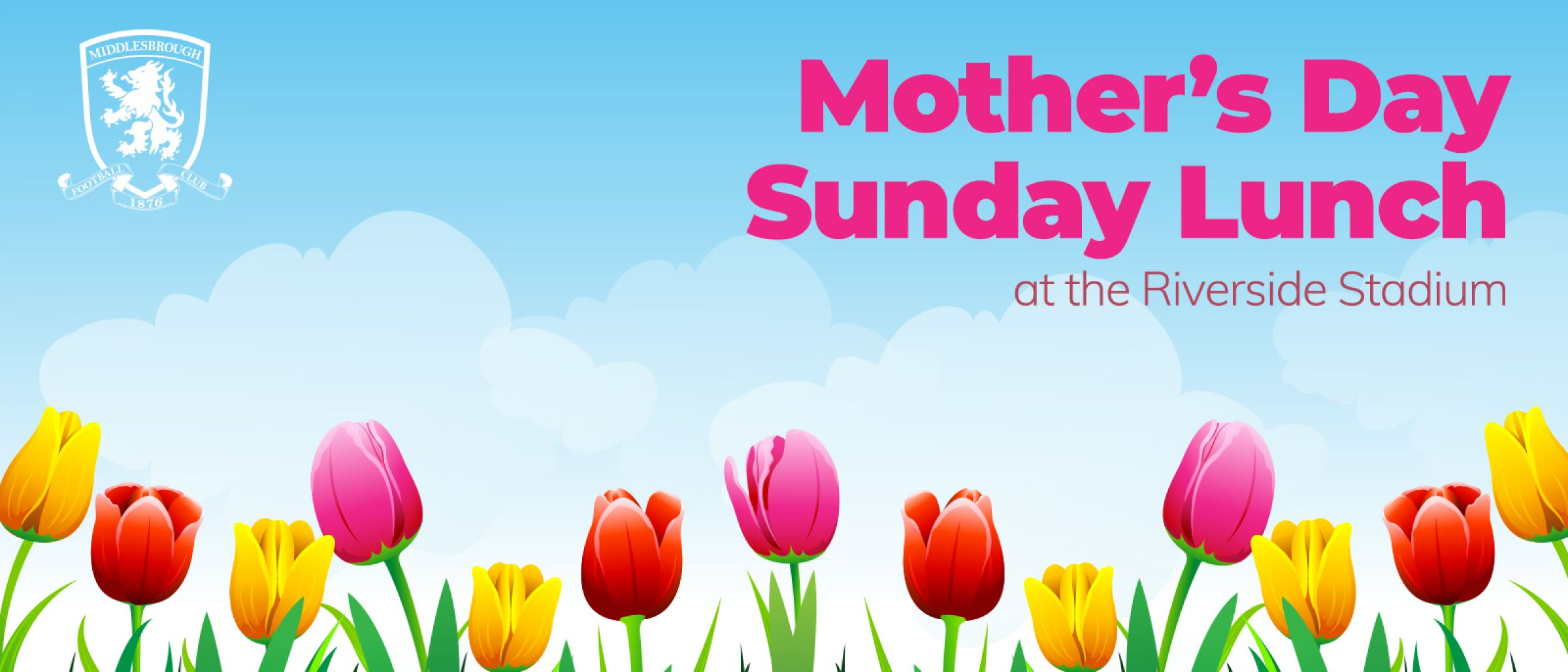 Mother's Day Sunday Lunch at the Riverside
