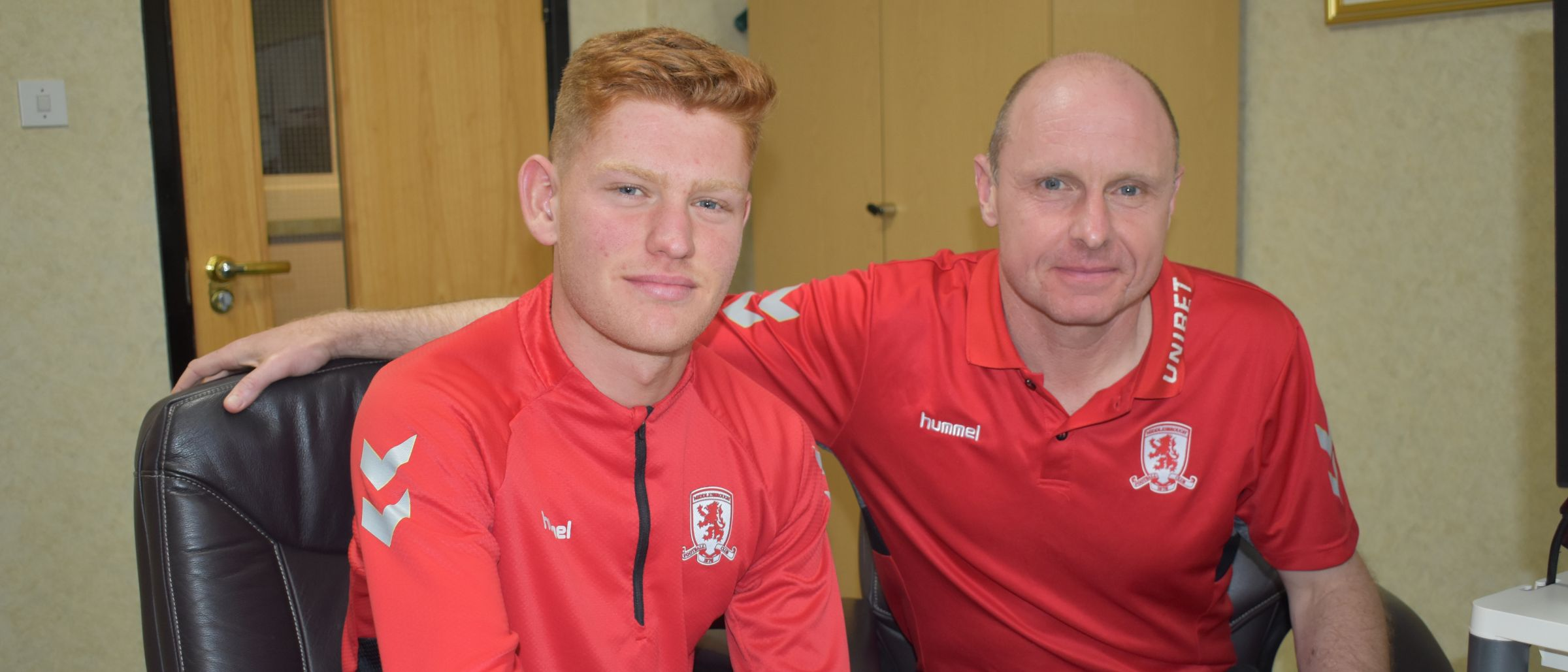 Connor Malley and Craig Liddle