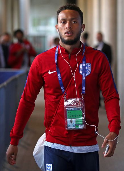 Chelsea FC's Lewis Baker with England