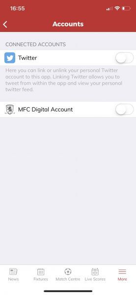 Link MFC Digital Acc With App