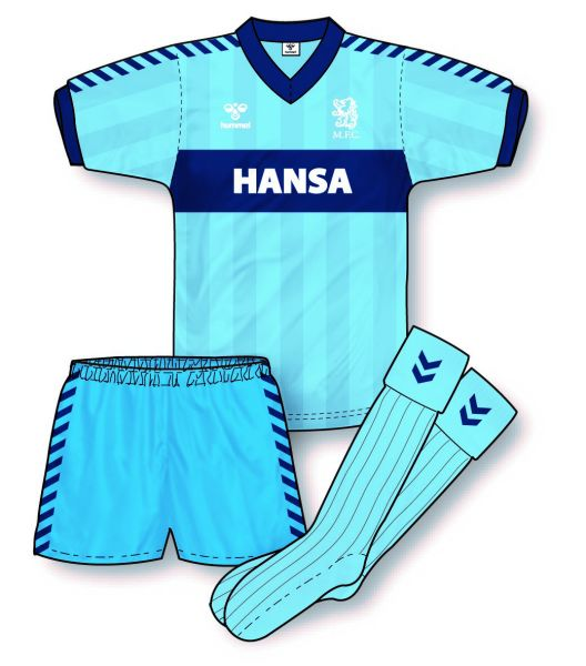 Boro's Hummel away kit from early 1980s