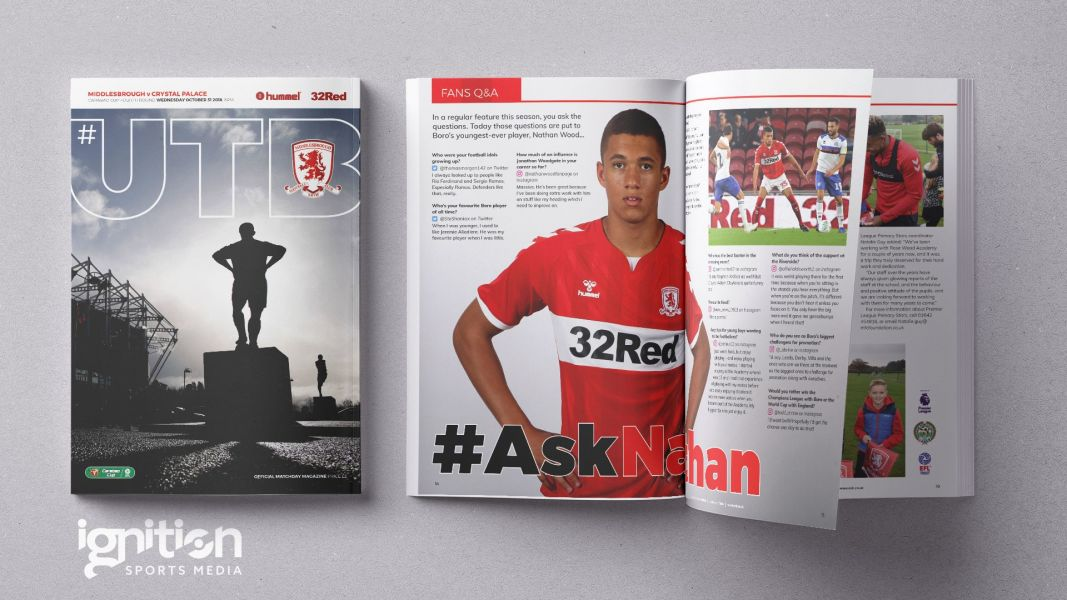 #UTB matchday programme - Crystal Palace