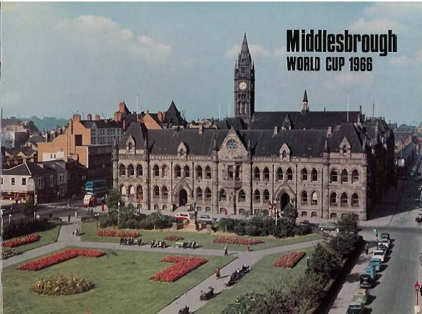 Middlesbrough World Cup 1966